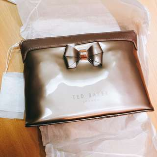 Ted Baker large wash bag / clutch / make up bag