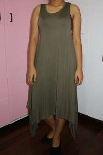 RUSH SELLING!!! Cotton On (army green) dress