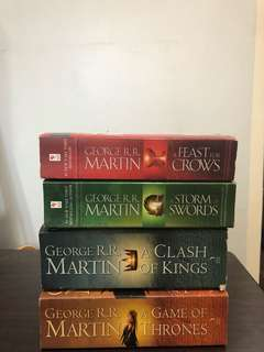 Game of Thrones 1-4 SET