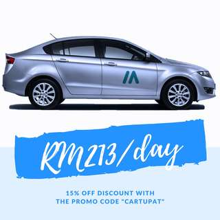 PROMOTION! Proton Preve RM213/day