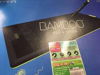 Wacom Bamboo Pen & Touch 畫板 medium size