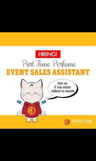 Perfume Sale Assistant for Event