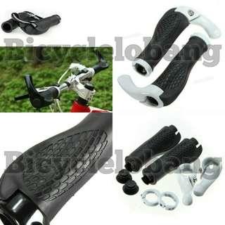 Bicycle Handlebar Grip (Ox Horn Shape Aluminum)