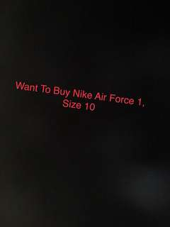 WTB air force 1