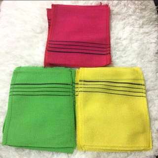 Korean knit towel