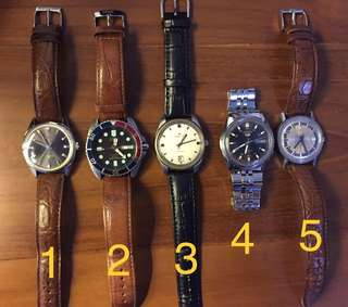 Genuine/authentic branded automatic watches