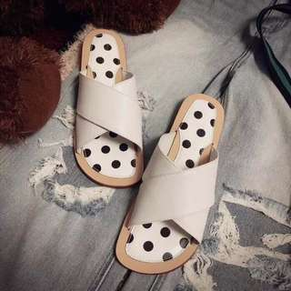 chanel slippers orig