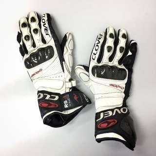 Clover RS-4 EVO Kangaroo Gauntlet Gloves (M)
