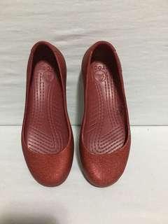 Crocs flats - sz 5 ( authentic)