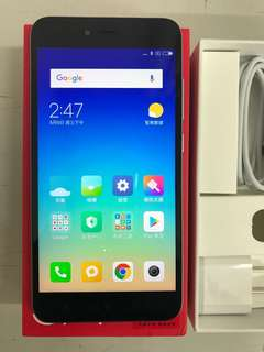 99%New Xiaomi Redmi Note 5A 2GB 16GB Dual Grey