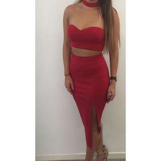 🔥Red Formal Dress