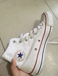 Converse White Chuck Taylor High Top