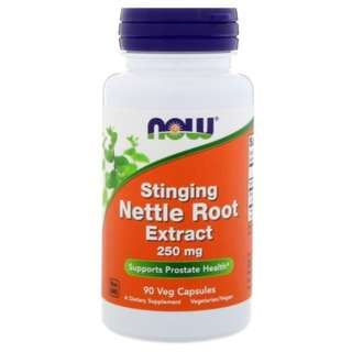 🚚 Now Foods - Stinging Nettle Root Extract 250 mg // 90 Veg Capsules