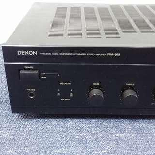 Denon PMA-360 Stereo Integrated Amplifier