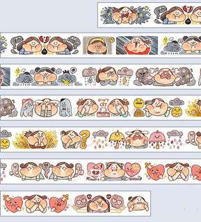 (Instock) *Exclusive* My Stormy Moods Washi Stickers