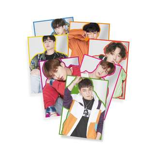 【Korea Buying Service】iKON Official KOLORFUL POSTER SET