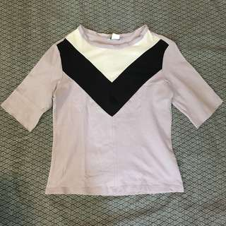 Monki Crop Top