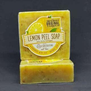 Lemon peel soap