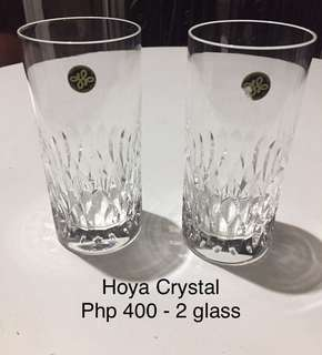 Crystal wine glass tumbler Etc