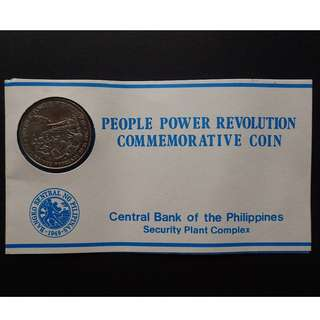 10 Piso People Power Revolution Commemorative Coin