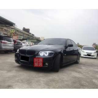 2009年   BMW   320I  黑    FB搜尋:阿源 嚴選二手車/中古車買賣
