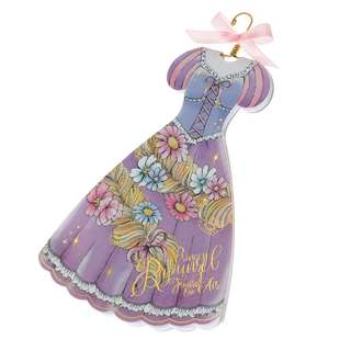Japan Disneystore Disney Store Rapunzel Tangled Dress Princess Party Notepad
