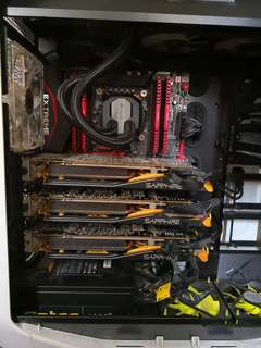 Mining & gaming desktop hi-end