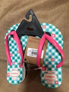 Authentic Havaianas Kids Slippers for Little girls