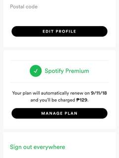 Spotify 3months 90 only