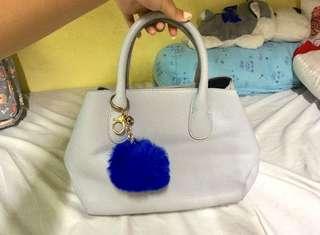 Grey Korean Two Way Bag