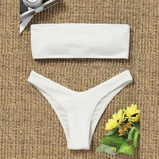 Tube two piece swimsuit