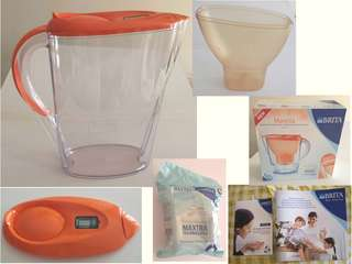 (全新) BRITA Marella 2.4L Water Filter Jug (有說明書和包裝盒)