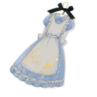 Japan Disneystore Disney Store Alice in Wonderland Dress Notepad