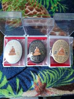 Thai Amulet Wat Jaeng Lp Pong Locket Be2561