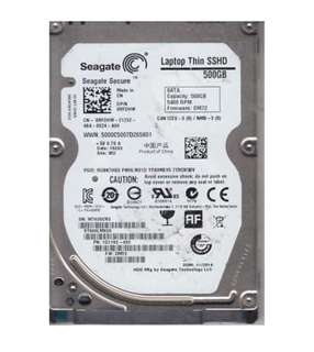 Seagate 500GB SSHD