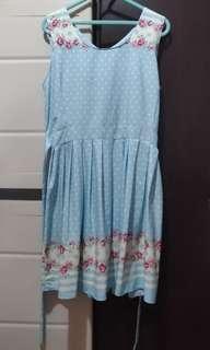 Petit Monde Light Blue Dress
