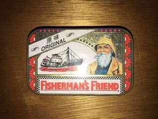 復古漁夫之寶鐵盒 Vintage fisherman treasure box