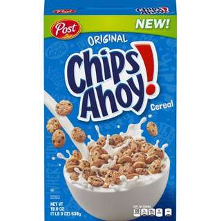 Post Chips Ahoy Breakfast Cereal