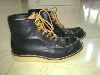"sepatu coach boot ""dominic"" for man 100% authentic"