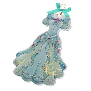 Japan Disneystore Disney Store Ariel the Little Mermaid Dress Princess Party Notepad