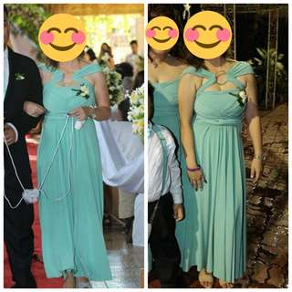 INFINITY GOWN (MINT GREEN)