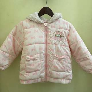 sanrio winter jacket for kids