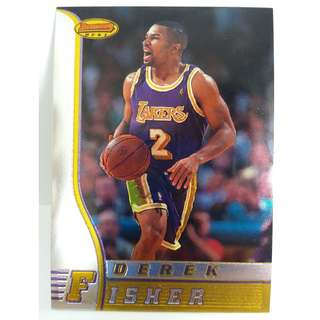 1997 Topps Bowman's Best NBA Cards Derek Fisher R15 Chrome