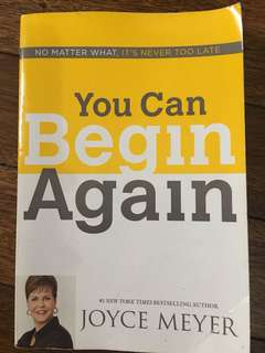 You Can Begin Again (Joyce Meyer)