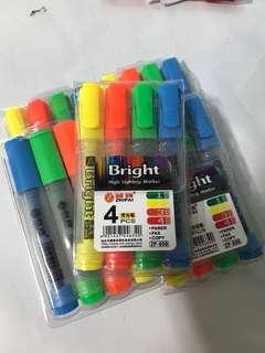 BN highlighter stationery