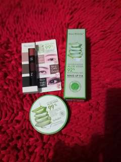 Aloe Vera makeup set