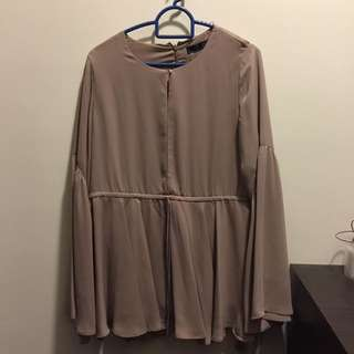 Aere Top Blouse Diella drawstring Top