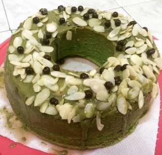 Greentea chiffoncake
