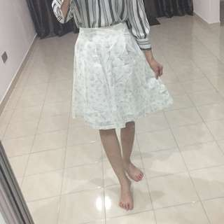 BN printed midi skirt
