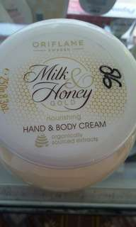 Oriflame milk and honey